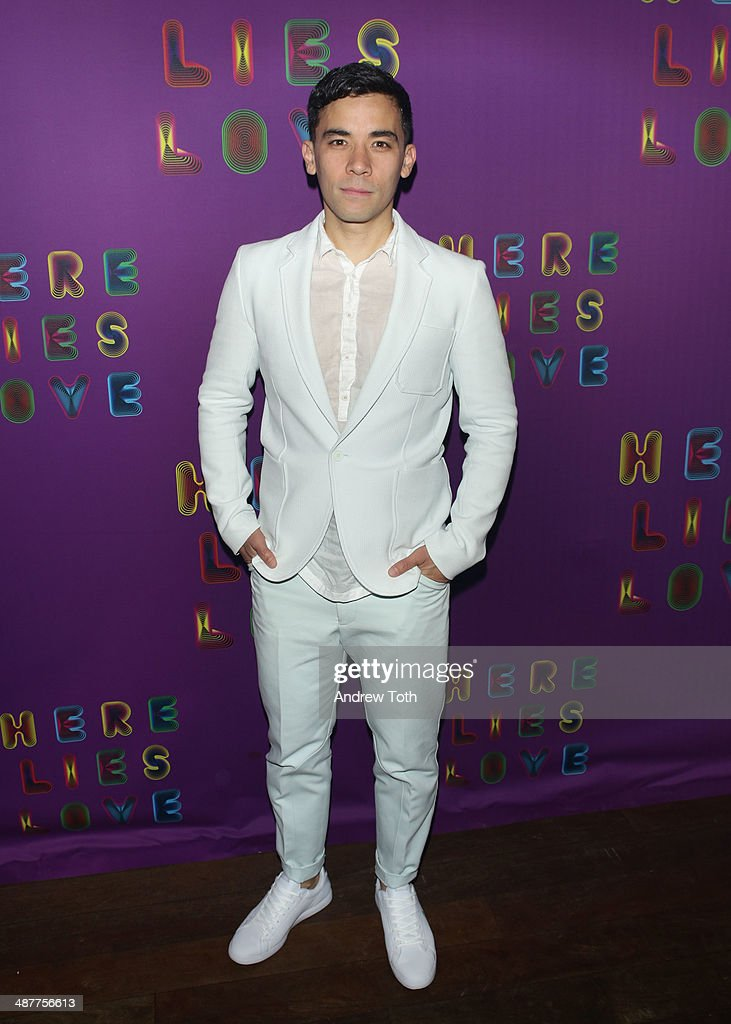 """""""Here Lies Love"""" After Party : News Photo"""