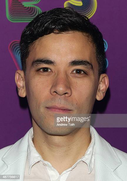 Actor Conrad Ricamora attends Here Lies Love after party at Gallow Green at the McKittrick Hotel on May 1 2014 in New York City