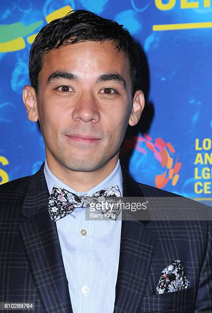 Actor Conrad Ricamora attends the Los Angeles LGBT 47th Anniversary Gala at Pacific Design Center on September 24 2016 in West Hollywood California