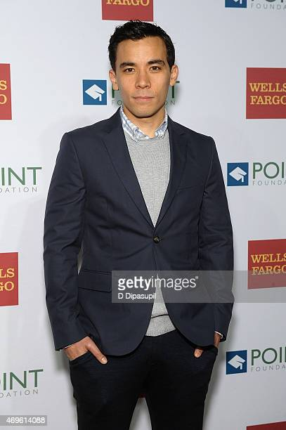 Actor Conrad Ricamora attends The Point Foundation's Annual Point Honors New York Gala at New York Public Library on April 13 2015 in New York City