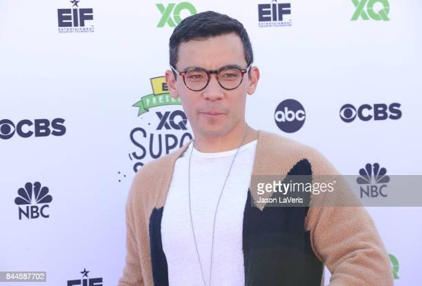Actor Conrad Ricamora attends XQ Super School Live at The Barker Hanger on September 8 2017 in Santa Monica California
