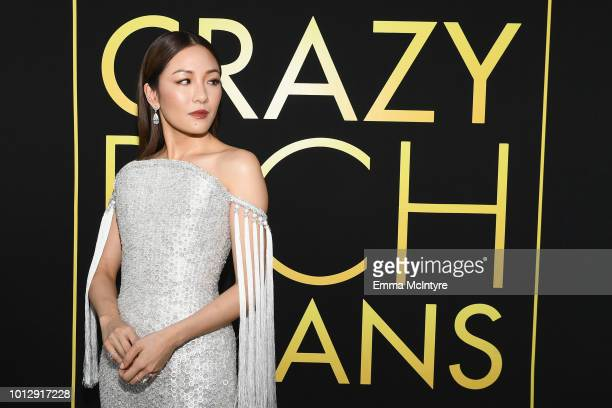 Actor Constance Wu arrives at Warner Bros Pictures' Crazy Rich Asians Premiere at TCL Chinese Theatre IMAX on August 7 2018 in Hollywood California