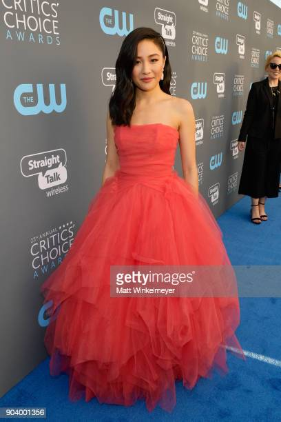 Actor Constance Wu attends The 23rd Annual Critics' Choice Awards at Barker Hangar on January 11 2018 in Santa Monica California