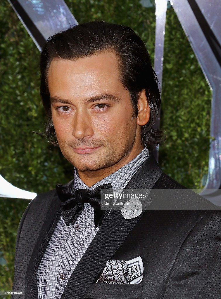 Actor Constantine Maroulis attends American Theatre Wing's 69th Annual Tony Awards at Radio City Music Hall on June 7, 2015 in New York City.