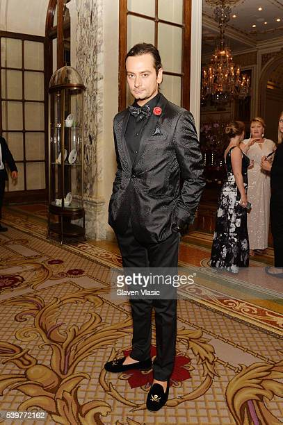 Actor Constantine Maroulis attends the after party for the 2016 Tony Awards Gala presented by Porsche at the Plaza Hotel on June 12 2016 in New York...
