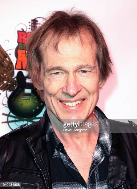 Actor Cooper Huckabee attends the 6th Annual Rock Against MS benefit concert and award show at the Los Angeles Theatre on March 31 2018 in Los...