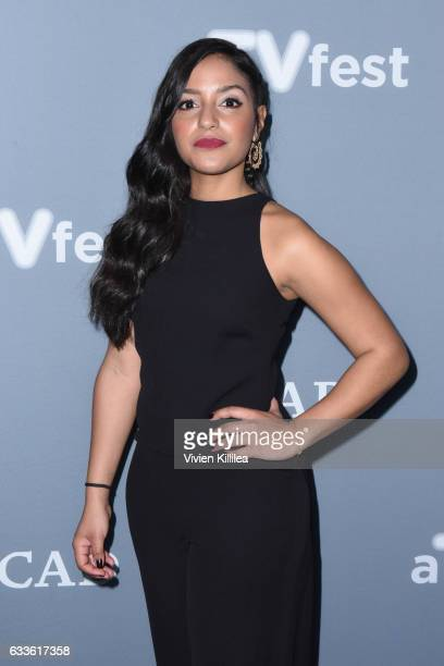 "Actor Coral Peña attend a press junket for ""24 Legacy"" during Day One of the aTVfest 2017 presented by SCAD on February 2 2017 in Atlanta Georgia"