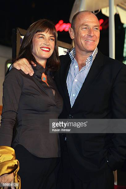 Actor Corbin Bernsen and his wife actress Amanda Pays arrive at the Warner Bros premiere of Kiss Kiss Bang Bang held at the Graumans Chinese Theater...