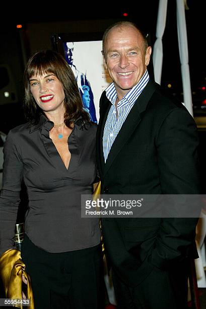 Actor Corbin Bernsen and his wife actress Amanda Pays arrive at the Warner Bros premiere of Kiss Kiss Bang Bang held at the Grauman's Chinese Theater...
