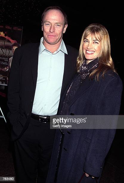 Actor Corbin Bernsen and his wife actress Amanda Pays attend the Los Angeles theatrical premiere of Left Behind the movie based on the New York Times...