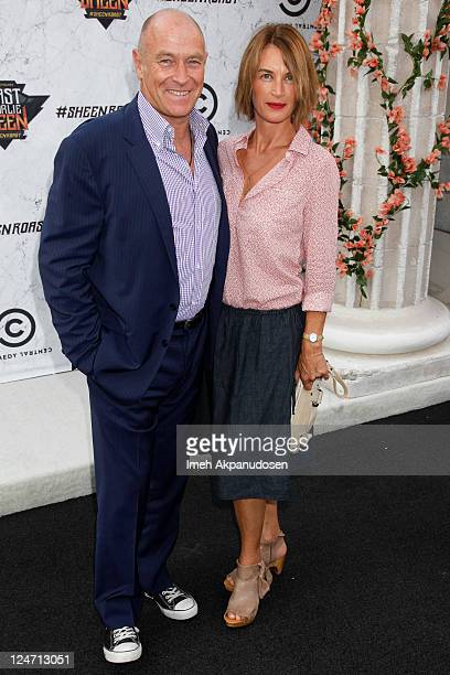 Actor Corbin Bernsen and his wife Amanda Pays attend the Comedy Central Roast of Charlie Sheen at Sony Studios on September 10 2011 in Los Angeles...