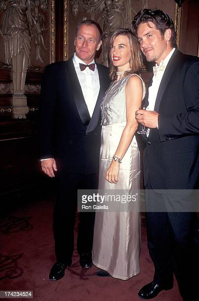 Actor Corbin Bernsen and wife Amanda Pays and actor Michael Damian attend the Second Annual Night of Stars Gala to Benefit the Foundation for...