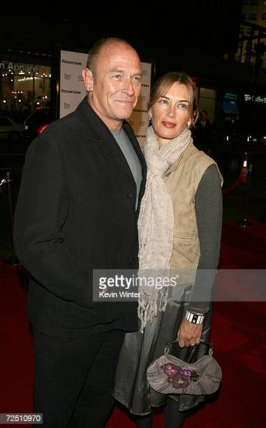 Actor Corbin Bernsen and wife Amanda Pays arrive at the US Premiere and Centerpiece Gala of The Fountain during AFI FEST 2006 presented by Audi held...