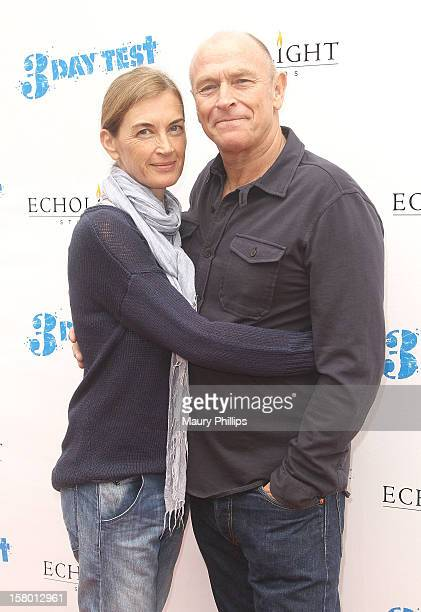 Actor Corbin Bernsen and wife Amanda Pays attend 3 Day Test Los Angeles Premiere at Downtown Independent Theatre on December 8 2012 in Los Angeles...