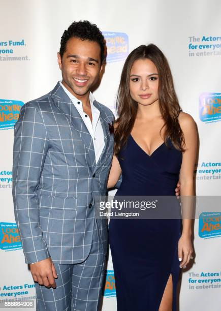Actor Corbin Bleu and actress Sasha Clements attend The Actors Fund's 2017 Looking Ahead Awards honoring the youth cast of NBC's 'This Is Us' at...