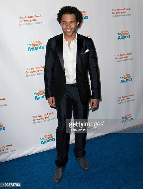 Actor Corbin Bleu arrives at The Actors Fund's 2015 Looking Ahead Awards Arrivals at Taglyan Cultural Complex on December 3 2015 in Hollywood...