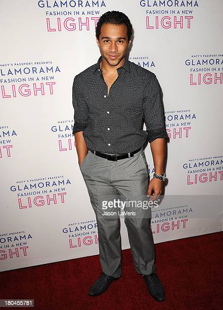 Actor Corbin Bleu attends Macy's Passport presents Glamorama at Orpheum Theatre on September 12 2013 in Los Angeles California