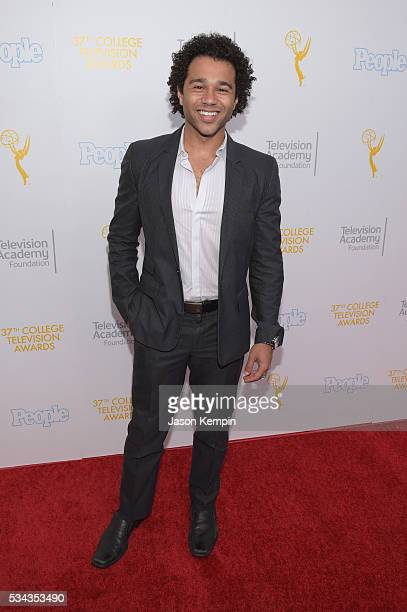 Actor Corbin Bleu attends the 37th College Television Awards at Skirball Cultural Center on May 25 2016 in Los Angeles California