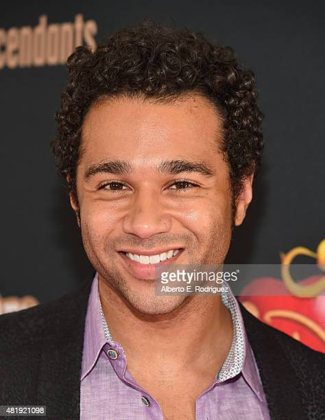 Actor Corbin Bleu attends the premiere of Disney Channel's Descendants at Walt Disney Studios on July 24 2015 in Burbank California