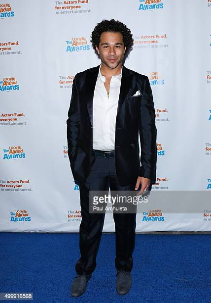 Actor Corbin Bleu attends the The Actors Fund's 2015 Looking Ahead Awards at Taglyan Cultural Complex on December 3 2015 in Hollywood California