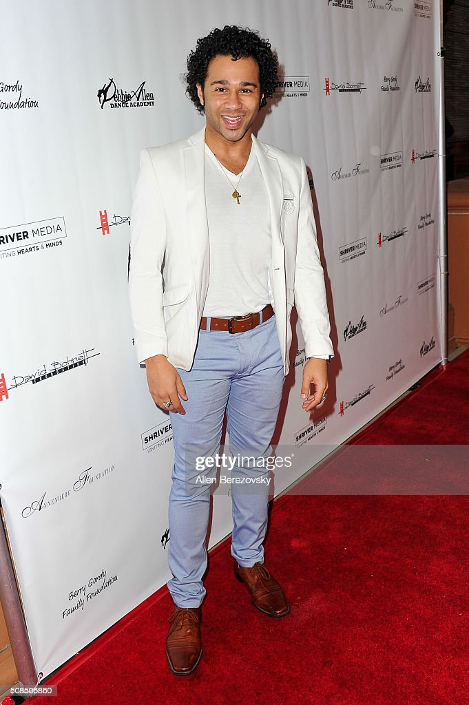 Actor Corbin Bleu attends the U.S. Premiere of Debbie Allen's 'Freeze Frame' at The Wallis Annenberg Center for the Performing Arts on February 4, 2016 in Beverly Hills, California.