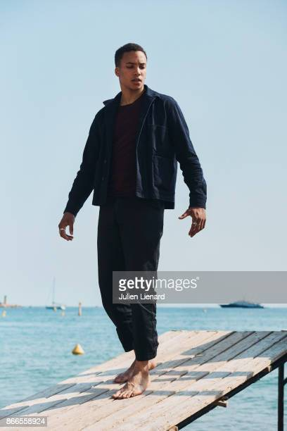 Actor Corentin Fila is photographed for Self Assignment on May 26 2017 in Cannes France