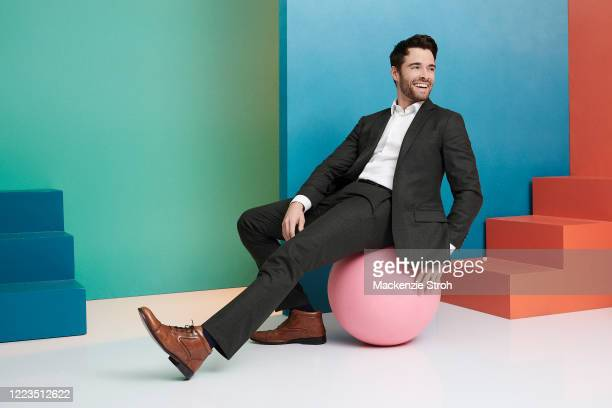 Actor Corey Cott is photographed for Entertainment Weekly Magazine on February 27, 2020 at Savannah College of Art and Design in Savannah, Georgia....