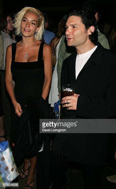 Actor Corey Feldman and his wife Susie attend the after party at the Writers Guild of America Theatre following the 4th annual IndieProducer Awards...