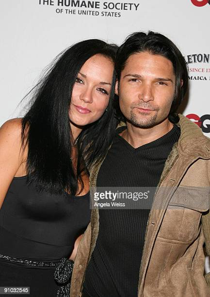 Actor Corey Feldman and his wife Susie Feldman arrive to NSF GQ Magazine's Stop Puppy Mills Humane Society benefit at a private estate on September...
