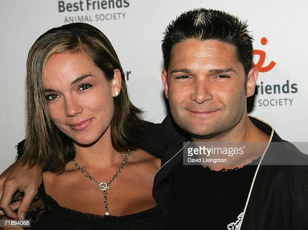 Actor Corey Feldman and his wife Susie Sprague attend the Best Friends Animal Society's annual fundraiser The Lint Roller Party at Smashbox Studios...