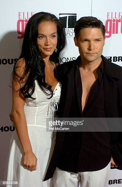 Actor Corey Feldman and his wife Susie Sprague Feldman arrive at the First Annual ELLEGIRL Hollywood Prom party held at the Hollywood Athletic Club...
