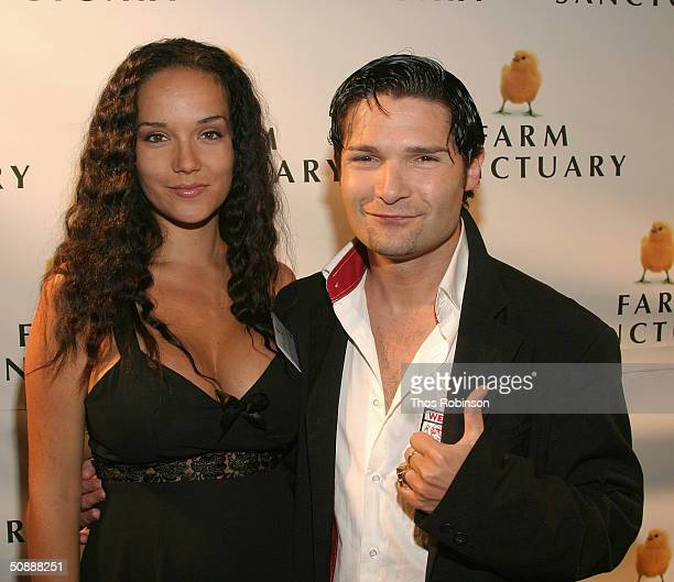 Actor Corey Feldman and his wife Susie Sprague Feldman attend the Farm Sanctuary Gala 2004 at The Plaza Hotel on May 22 2004 in New York City