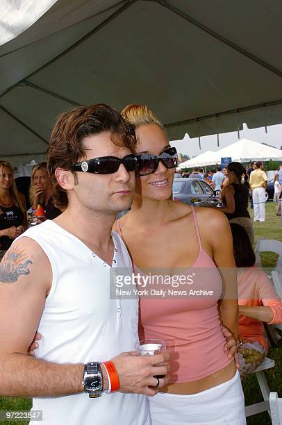 Actor Corey Feldman and wife Susie are in attendance on the third weekend of the annual MercedesBenz Polo Challenge at the Bridgehampton Polo Club in...