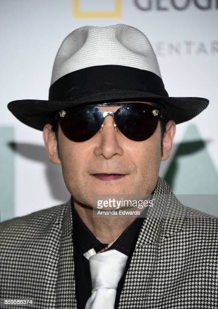 Actor Corey Feldman arrives at the premiere of National Geographic Documentary Films' 'Jane' at the Hollywood Bowl on October 9 2017 in Hollywood...