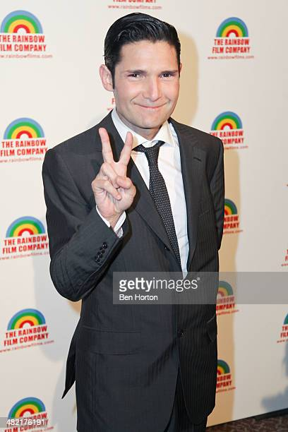 Actor Corey Feldman attends the premiere of The M Word at DGA Theater on April 2 2014 in Los Angeles California