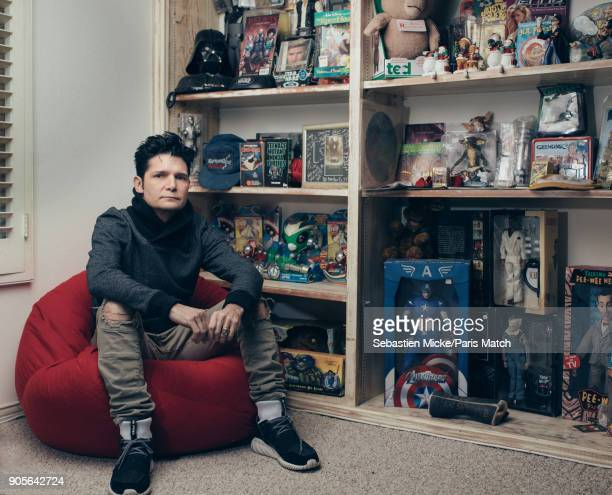 Actor Corey Feldman is photographed for Paris Match on December 11 2017 in Los Angeles California