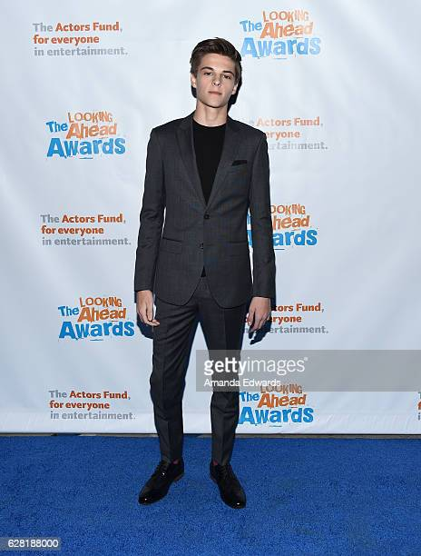 Actor Corey Fogelmanis arrives at The Actors Fund's 2016 Looking Ahead Awards at Taglyan Complex on December 6 2016 in Los Angeles California