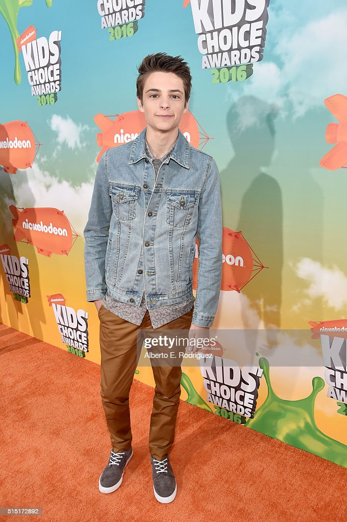Actor Corey Fogelmanis attends Nickelodeon's 2016 Kids' Choice Awards at The Forum on March 12, 2016 in Inglewood, California.