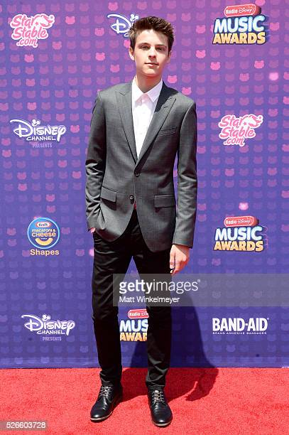 Actor Corey Fogelmanis attends the 2016 Radio Disney Music Awards at Microsoft Theater on April 30 2016 in Los Angeles California