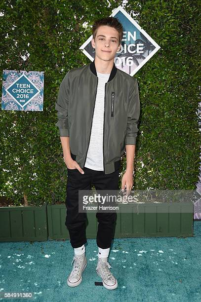 Actor Corey Fogelmanis attends the Teen Choice Awards 2016 at The Forum on July 31 2016 in Inglewood California