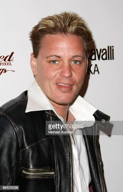 Actor Corey Haim arrives at the 3rd Annual Avant Garde Fashion Show at Boulevard3 on March 19 2009 in Hollywood California