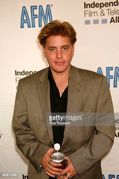 Actor Corey Haim attends the 2009 American Film Market Day 3 Gobal Universal Pictures Estella Warren Conference at the Loews Santa Monica Beach Hotel...