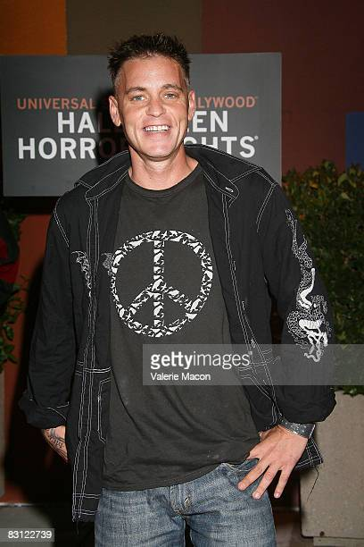 Actor Corey Haim attends the Universal Studios' Opening Night Of Halloween on Horror Nights October 3 2008 in Universal City California