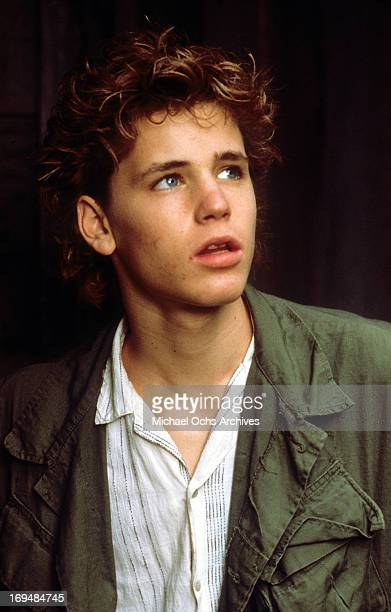Actor Corey Haim poses for a portrait in circa 1988
