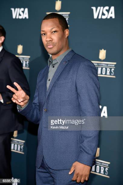 Actor Corey Hawkins attends 6th Annual NFL Honors at Wortham Theater Center on February 4 2017 in Houston Texas