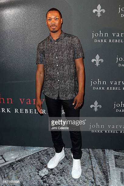 Actor Corey Hawkins attends John Varvatos Spring/Summer 2017 Fashion Show After Party Celebrating the Launch of Dark Rebel Rider at John Varvatos...