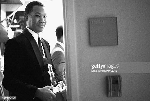 Actor Corey Hawkins attends the 19th Annual Hollywood Film Awards at The Beverly Hilton Hotel on November 1 2015 in Beverly Hills California