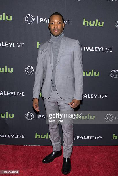 Actor Corey Hawkins attends the '24 Legacy' Preview Screening Panel Discussion at The Paley Center for Media on December 19 2016 in New York City