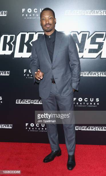 Actor Corey Hawkins attends the BlacKkKlansman New York premiere at Brooklyn Academy of Music on July 30 2018 in New York City