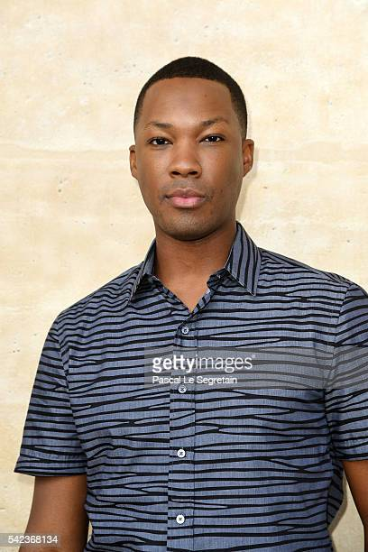 Actor Corey Hawkins attends the Louis Vuitton Menswear Spring/Summer 2017 show as part of Paris Fashion Week on June 23 2016 in Paris France